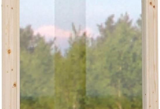 Seinäelementti ikkunalla